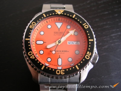 SEIKO SKX011J4 MALLA OYSTER MADE IN JAPAN EDICION ESPECIAL