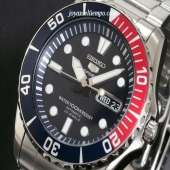 SEIKO SNZF15K1 ACERO INOX. BUCEO 100 MTS